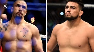 Robert Whittaker Vs. Kelvin Gastelum called off