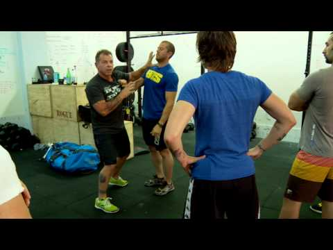 CrossFit - The Palm Strike with Tony Blauer