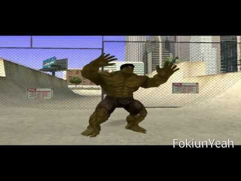 Gta San Andreas Loquendo - Cj Vs Hulk