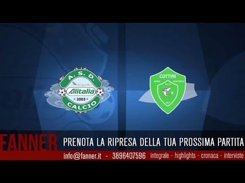 [Integrale] A - Andata Playout - Alitalia Calcio VS Cottini Serv.Ass. - legacalcioa8.it