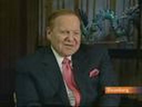 Adelson Says Las Vegas Sands' Model Is Working in Macau: Video