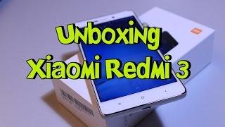 Xiaomi Redmi 3 - Unboxing e Primeiras Impressões - [Português BR]