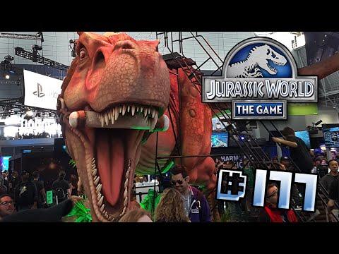 Jurassic World at PAX!! || Jurassic World - The Game - Ep 177 HD