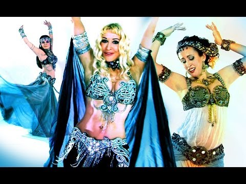Best Bellydance - Vintage Letters Music Video - Neon, Tanna Valentine, Sarah Skinner video