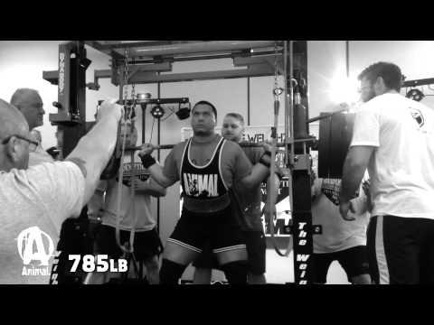 Jordan Wong: World Record Squat of 785 at 220 Pounds