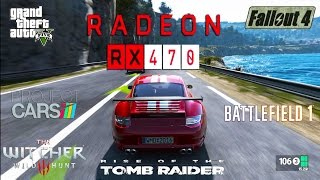 Radeon RX 470 Test in 6 Games (FX 8350)