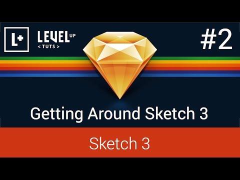 Sketch 3 Tutorials - #2 Getting Around Sketch 3