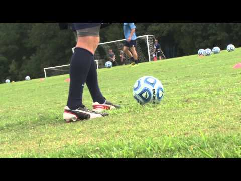 2014 Wingate Men's Soccer- Sights & Sounds from the first morning of practice
