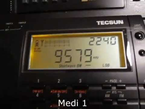 Africa on shortwave