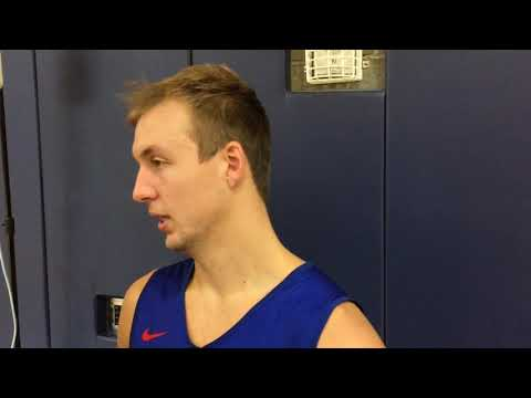 Pistons' Luke Kennard talks defense, team unity first day of camp