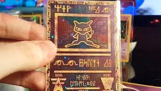 8 Extremely Rare Pokemon Cards Ancient Mew Mewtwo Celebi - Ebay Finds Part 3