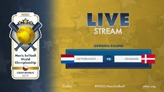 Netherlands v Denmark WBSC Mens Softball World Championship 2019