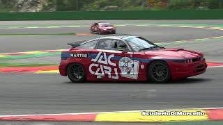 Alfa Romeo SZ 3.2 GTA EXTREME LOUD at Spa.
