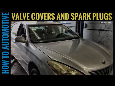 How to Replace the Valve Cover Gaskets and Spark Plugs on a 2005 Lexus ES330