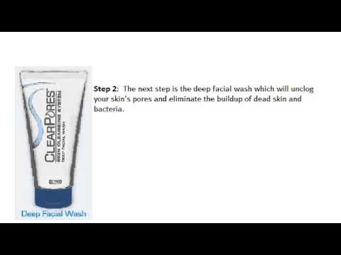 Clogged Pores Acne Aid Treatment | Clear Pores System
