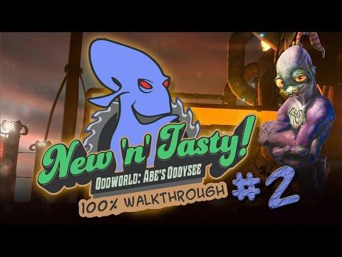 Oddworld: New 'n' Tasty 100% Walkthrough Cap.2 │ Recinto del bestiame