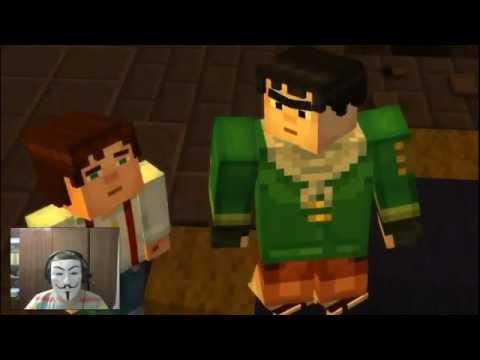 #5 Часть (Minecraft Story Mode)(Идем По Следам....)