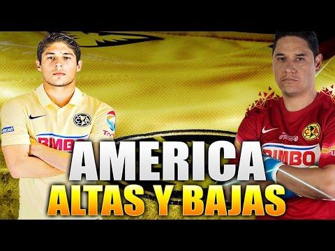 Posible Altas y Bajas  De AMERICA para El Apertura 2016
