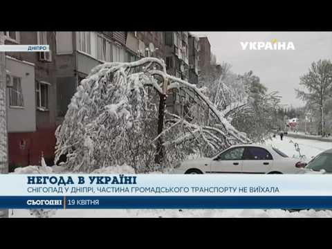 Схід України накрили хуртовини