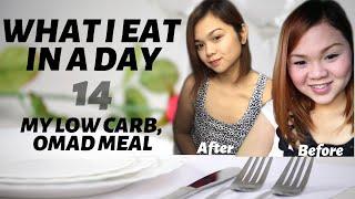 WHAT I EAT PARA PUMAYAT NG MABILIS# 14|| LCIF/KETO MEAL OMAD