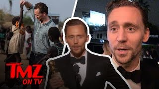 Tom Hiddleston on Tom Hiddleston's Globes Speech | TMZ TV