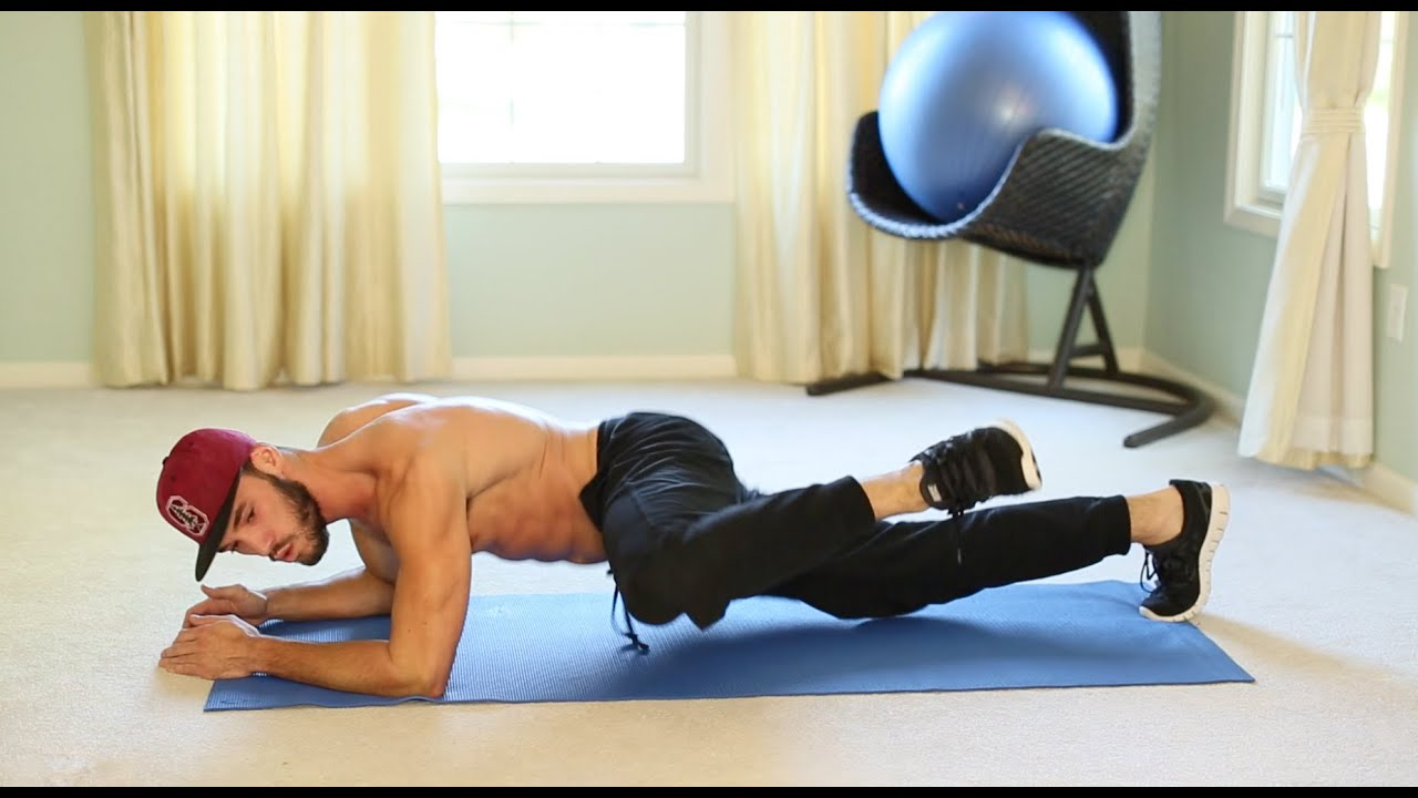 At home lower back core workout youtube