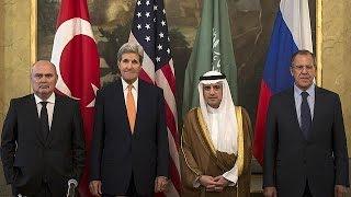 Ortadoğu Dörtlüsü Suriye Krizini Masaya Yatırdı