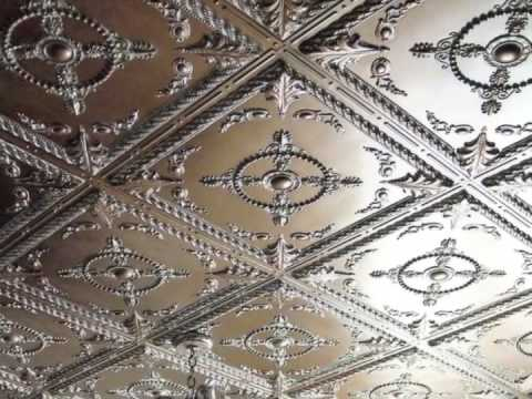 Using nail-up / glue-up ceiling tiles, you can convert any plain ceiling, indoors or out, into a masterpiece, and installation is simple!  Want the look of tin ceilings, or tin panels, but without the installation challenges of actual tin? Order free samples at www.ceilume.com today to see just how easy it can be!