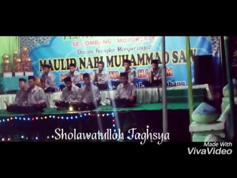Anwarul Muhibbin shoLawatulloh taghsya Di Wringinpitu Mojowarno 28 desember 2016