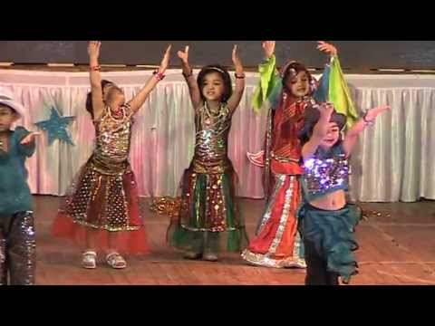 Welcome Song, Yeh To Sach Hai Ki Bhagwan Hai Song Dance - Shanti Juniors - New Ranip video