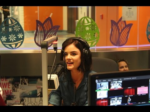 Lucy Hale Makes A Stop At Seacrest Studios In Orange County