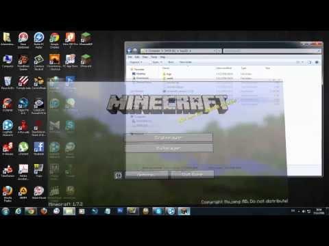 วิธีเปิดเซิฟ minecraft 1.7.2