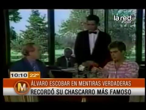 Álvaro Escobar recordó su chascarro más famoso