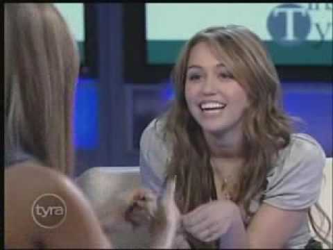 Miley Cyrus Interview At Tyra Banks Show 4/10/09 Part 2/6 HQ