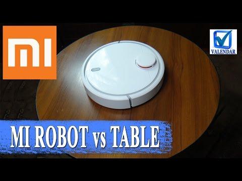 Тест Xiaomi Mi Robot Vacuum упадет ли робот пылесос с высоты