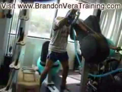 Brandon Vera utilizing Hypoxico Altitude Training Image 1