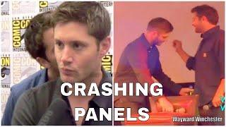 Supernatural Cast Crashing Interviews & Panels Of Each Other