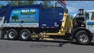 Waste Pro adds 2 new hybrid recycling trucks to Cape Coral