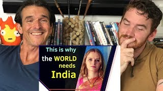 Is India a role model for the world? REACTION! | Karolina Goswami