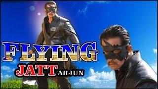 Harkat - A Flying Jatt Full Action Movie | Ft. Arjun, Madhuri | Hindi Dubbed
