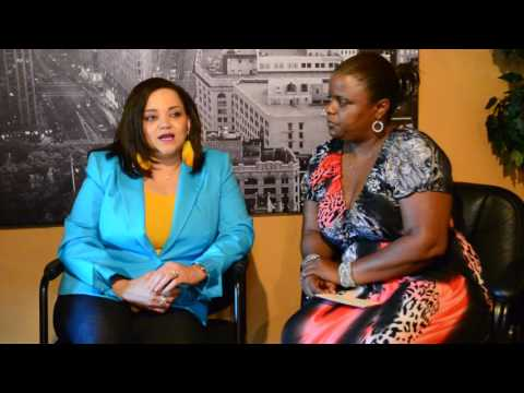 Millie Holmes interviews Stacy Lattisaw-Jackson and Roosevelt Jackson