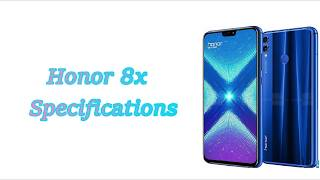 Honor 8x Specifications