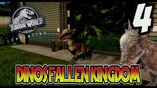 STYGIMOLOCH!! DINOS DE FALLEN KINGDOM EN JURASSIC WORLD EVOLUTION! Jurassic World Evolution #4