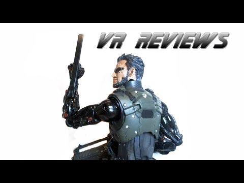 VR Reviews: Play Arts Kai- Deus Ex: Human Revolution- Adam Jensen Review