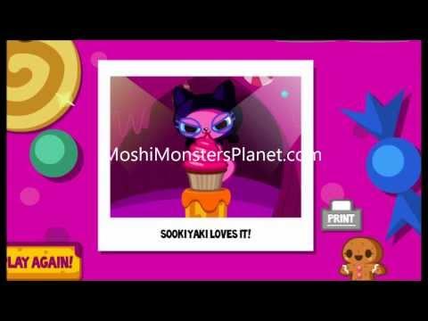 Moshi Monsters Cupcake Game Sooki Yaki. Tiki. General Fuzuki