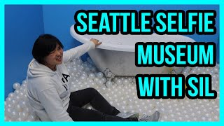 02102020: Seattle Selfie Museum with SIL | Vlog #2243