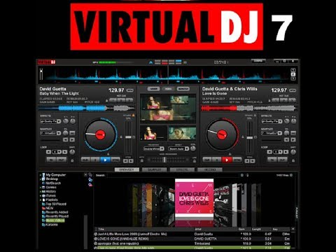 Virtual DJ 7.4 + Skins. Plugins. Effects & Samples free download[CRACKED]