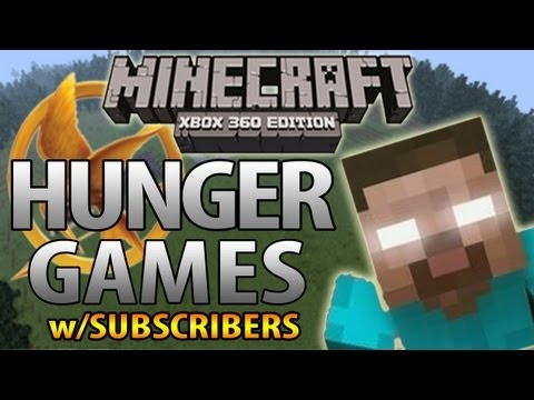 Minecraft (Xbox 360) - HUNGER GAMES w/Big B statz & Subscribers - HEROBRINE CITY