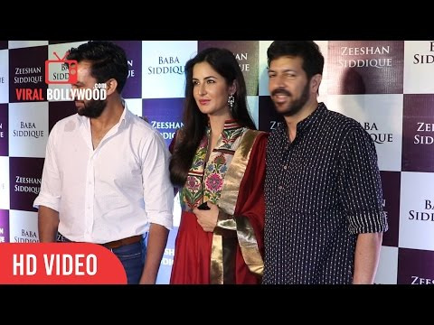 Katrina Kaif at Baba Siddique & Zeeshan Siddique Iftaar Dinner Party 2016