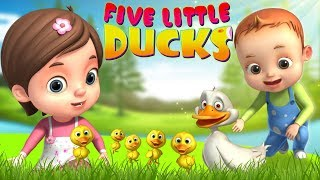 Five Little Ducks And Many More | Baby Ronnie Rhymes | Videogyan 3D Rhymes | Kids Songs Baby Videos